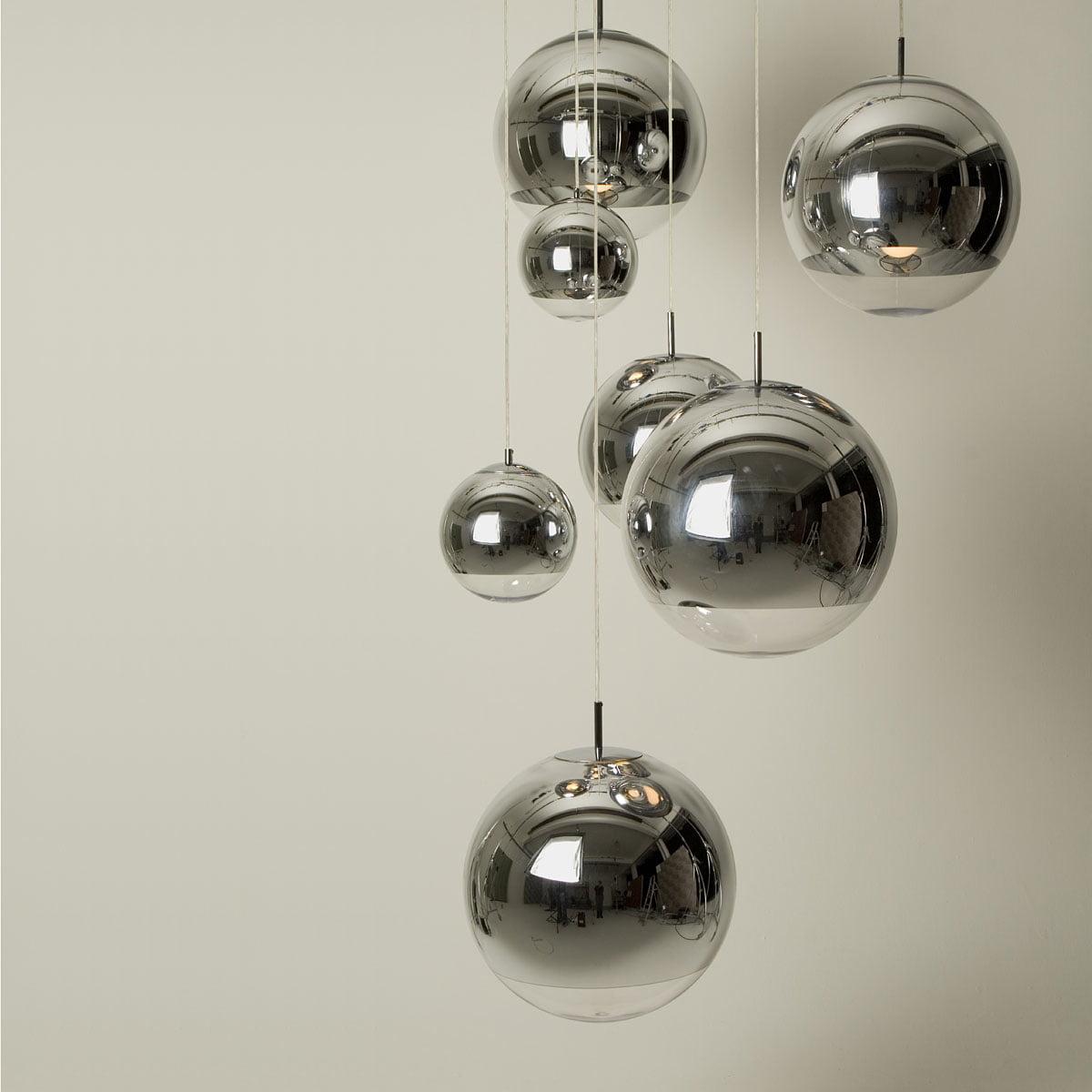 lampe suspension mirror ball par tom dixon. Black Bedroom Furniture Sets. Home Design Ideas