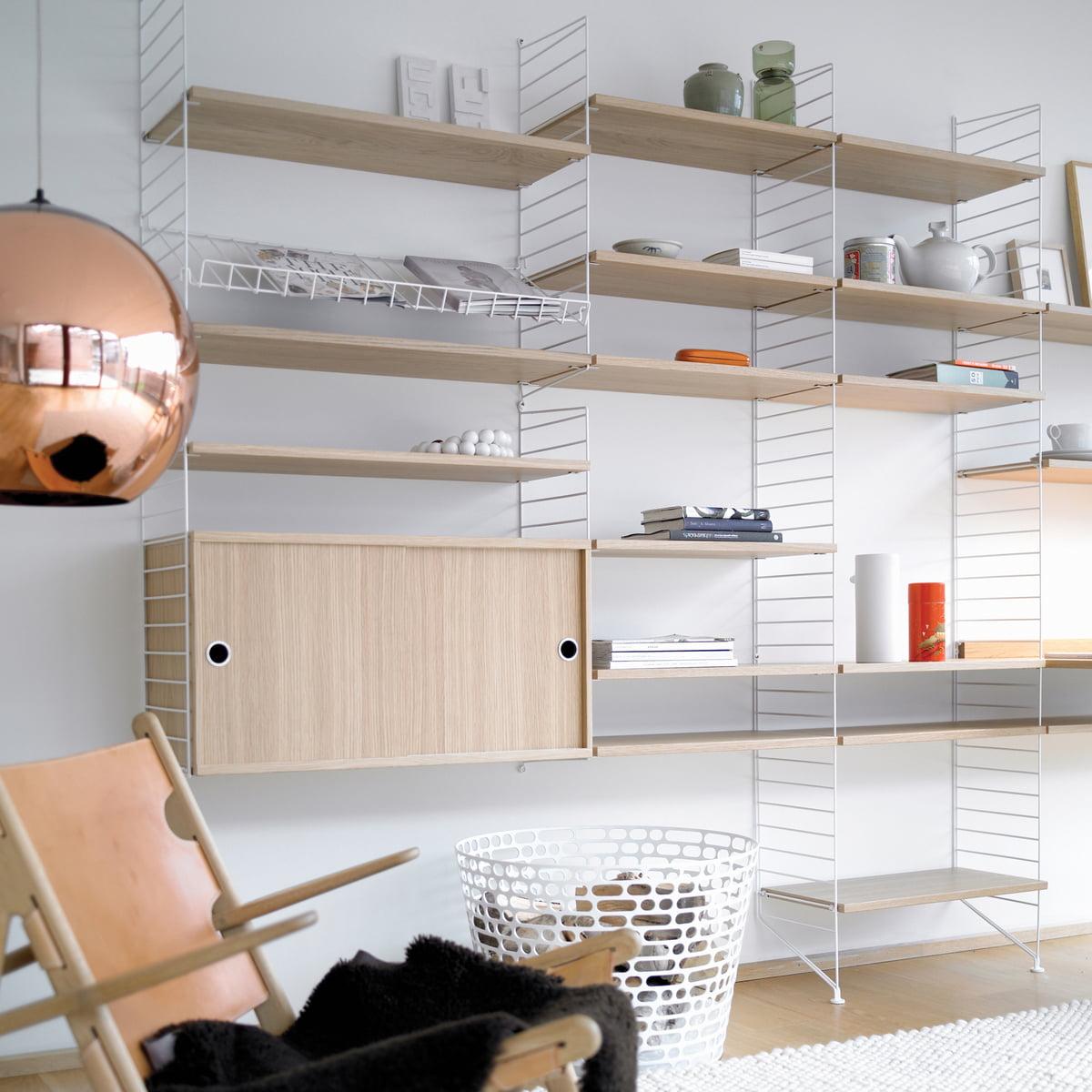 etag res 30 cm par string en vente sur connox. Black Bedroom Furniture Sets. Home Design Ideas