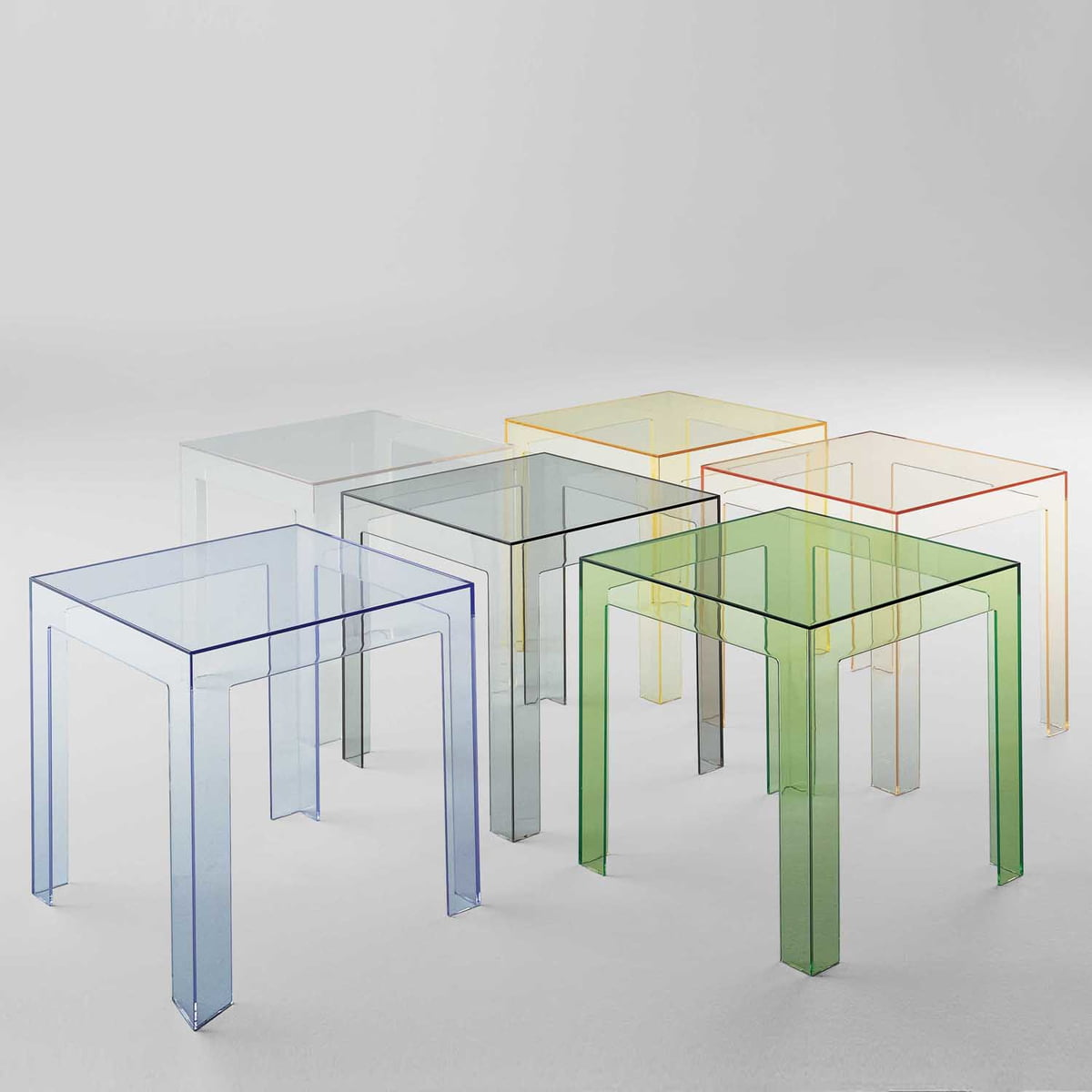 Kartell Table Basse Jolly Transparente