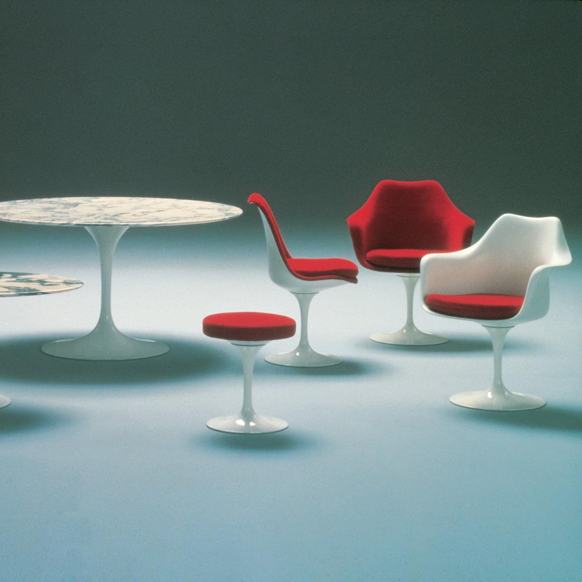 chaise avec accoudoirs tulip saarinen knoll. Black Bedroom Furniture Sets. Home Design Ideas