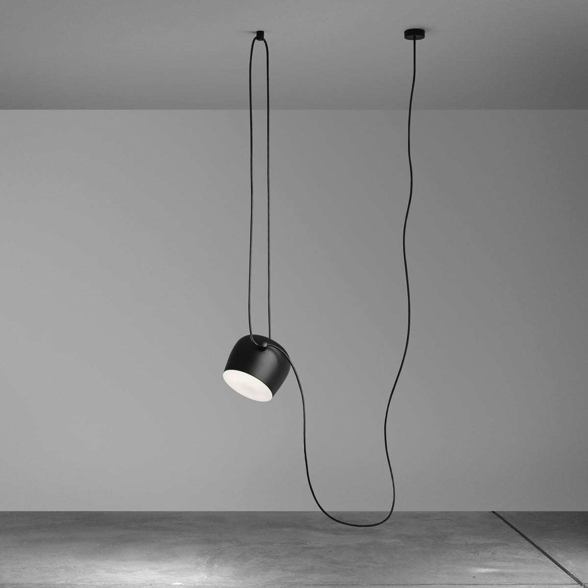 Flos aim small led suspension lumineuse for Suspension lumineuse