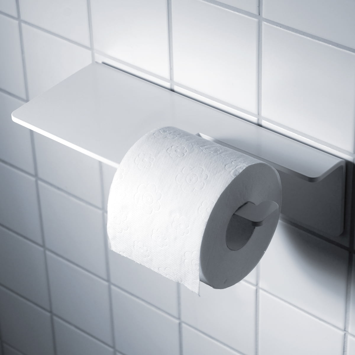 Radius Design Puro Toilettenpapierhalter Weiß