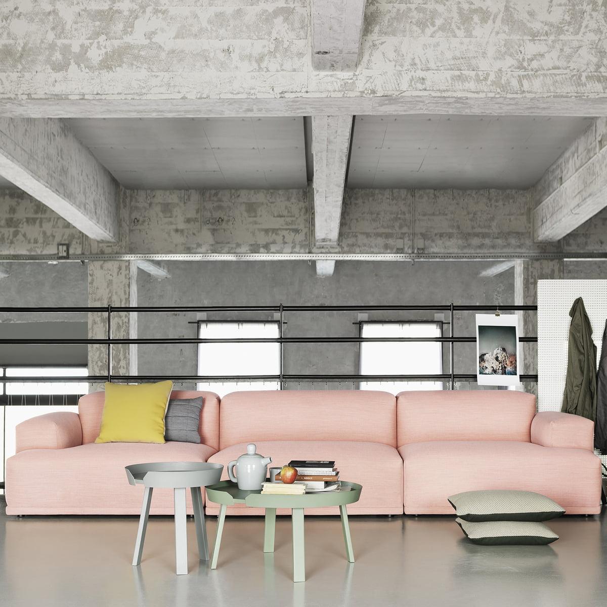around table de salon de muuto. Black Bedroom Furniture Sets. Home Design Ideas