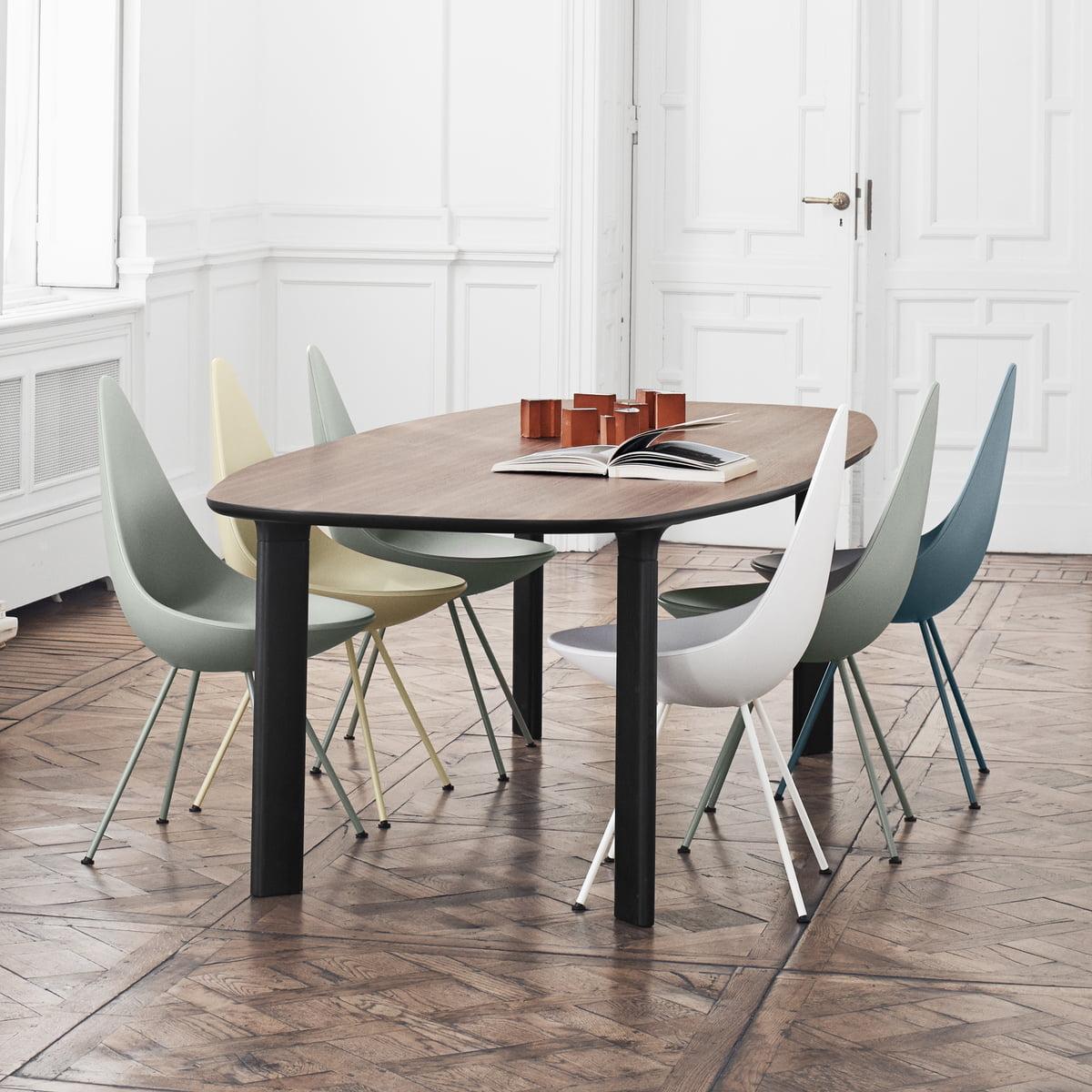 Table Analog Par Fritz Hansen