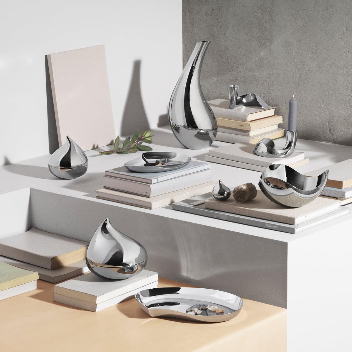 chandelier bloom de georg jensen en boutique. Black Bedroom Furniture Sets. Home Design Ideas