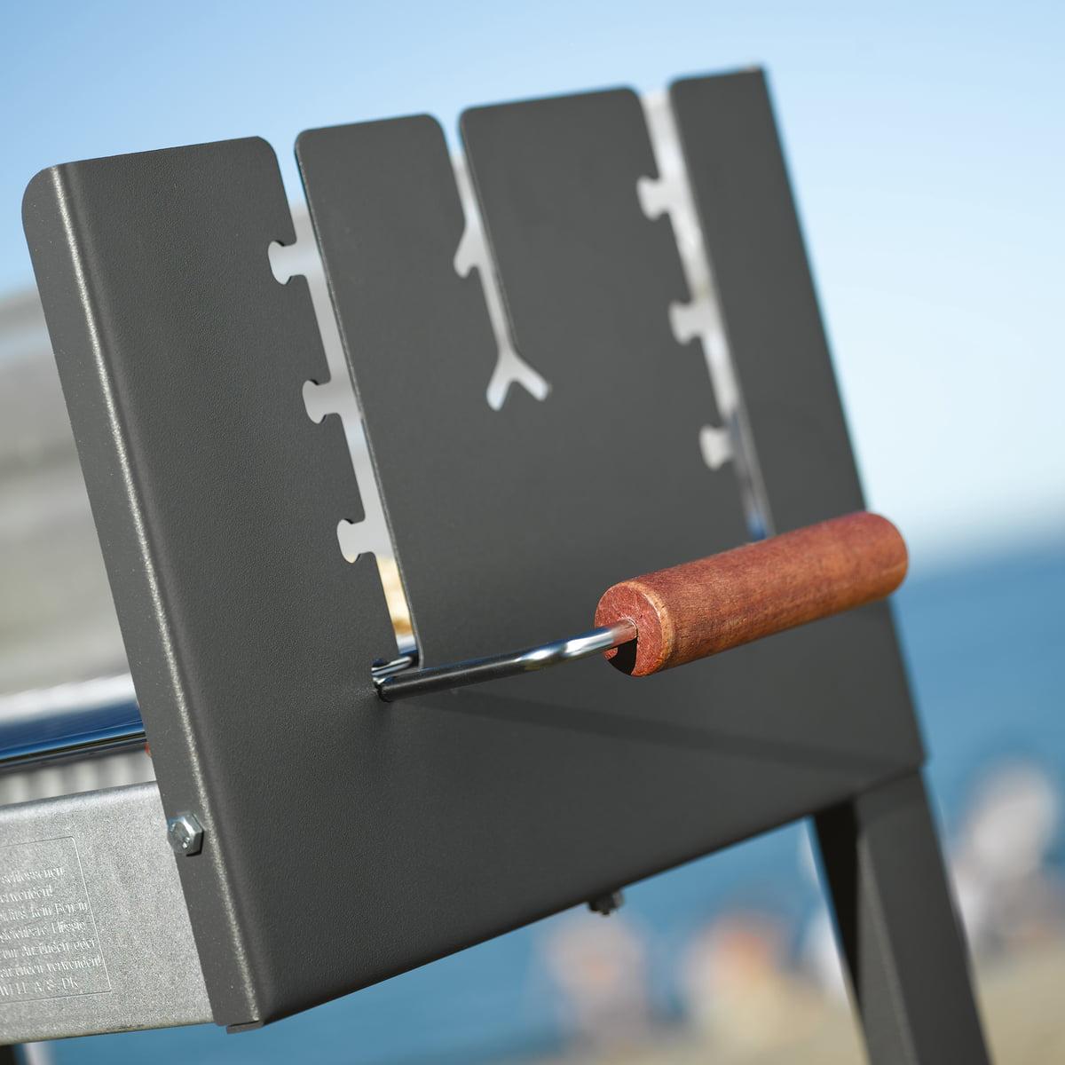 Dancook 5300 Barbecue box grill avec tablettes latérales