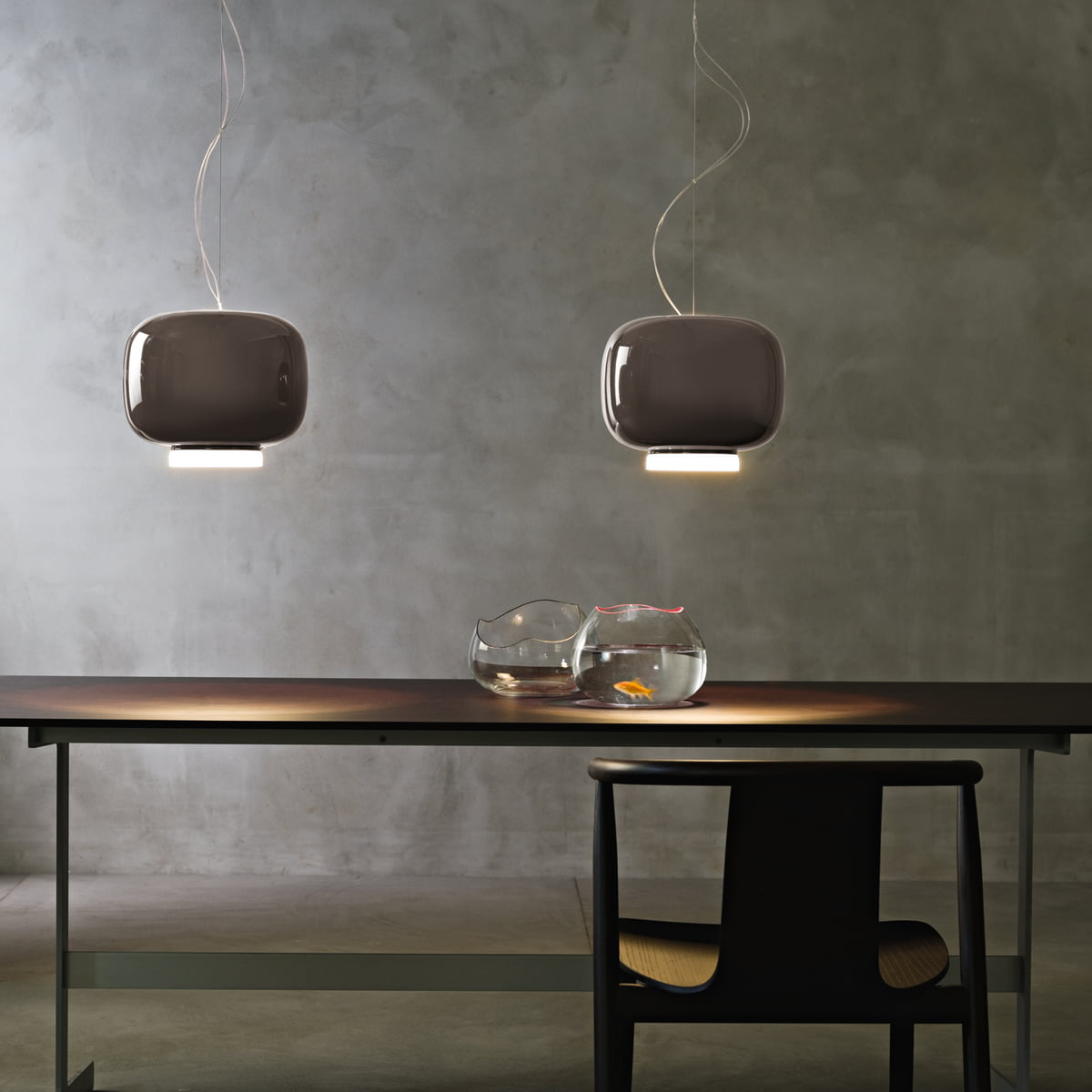 suspension lumineuse chouchin de foscarini. Black Bedroom Furniture Sets. Home Design Ideas