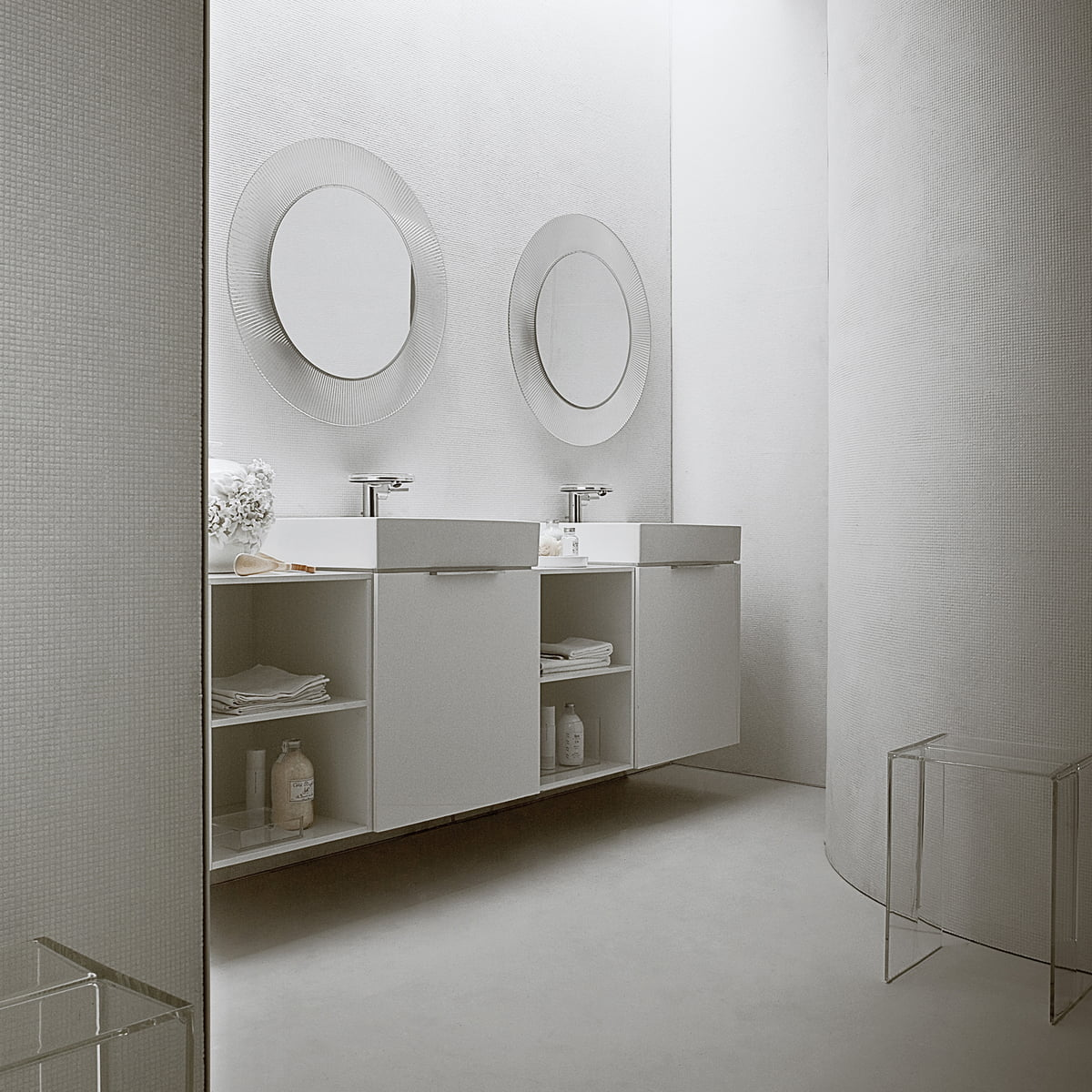 Meuble Salle De Bain Kartell ~ miroir all saints de kartell dans la boutique