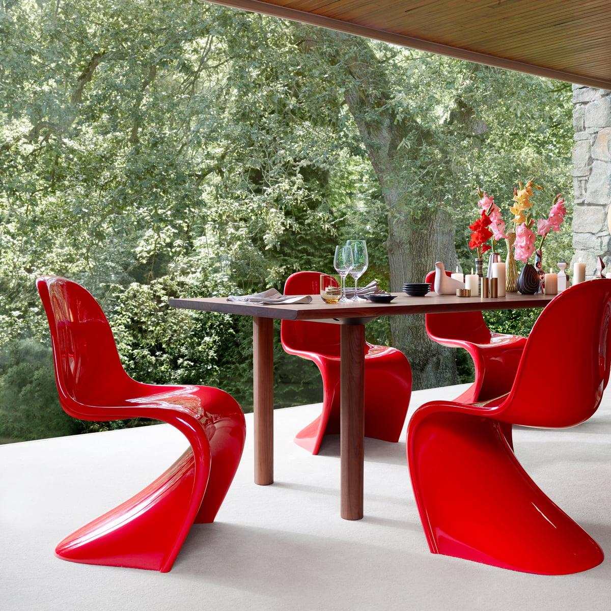 panton chair de vitra. Black Bedroom Furniture Sets. Home Design Ideas