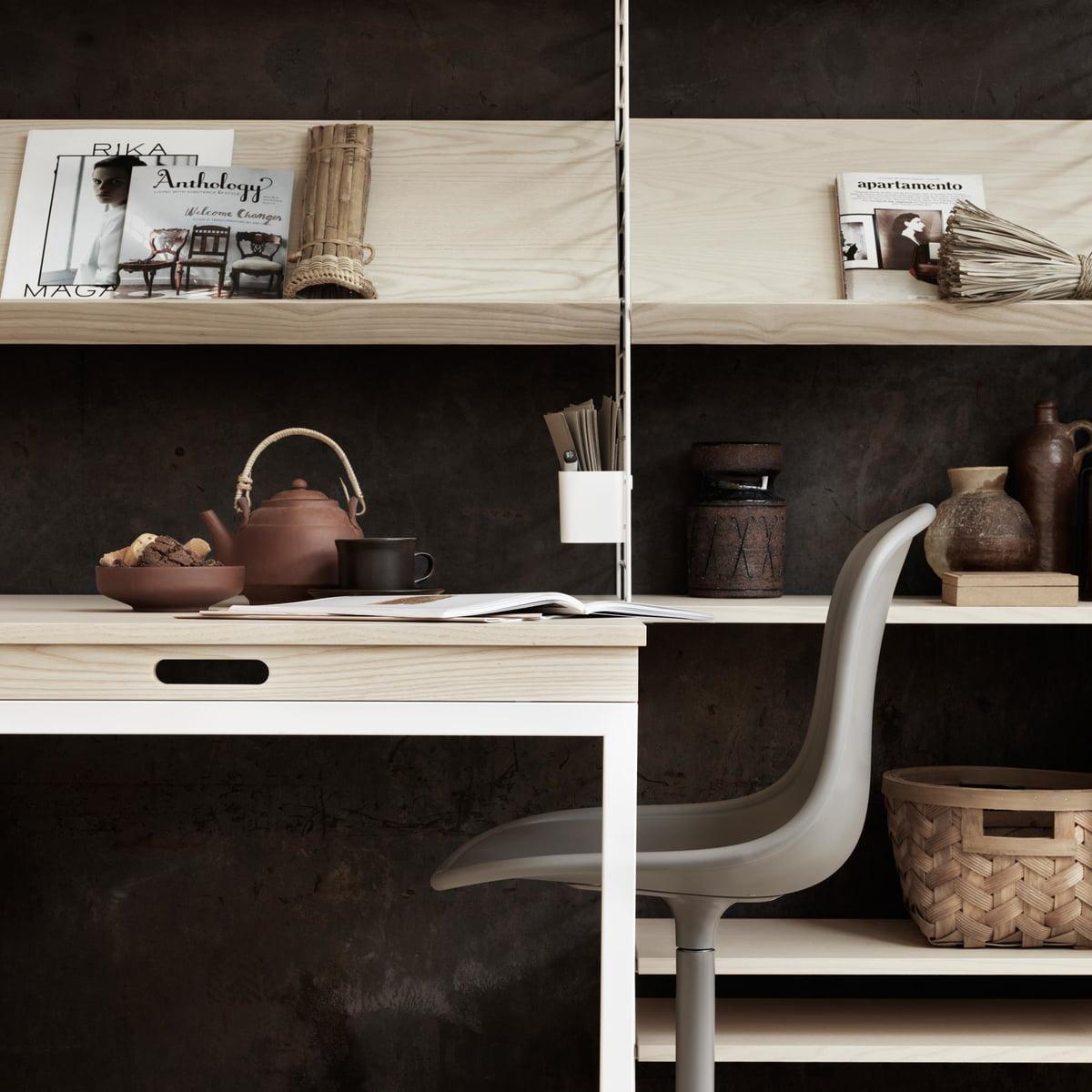 tag re en bois de fr ne string connox. Black Bedroom Furniture Sets. Home Design Ideas