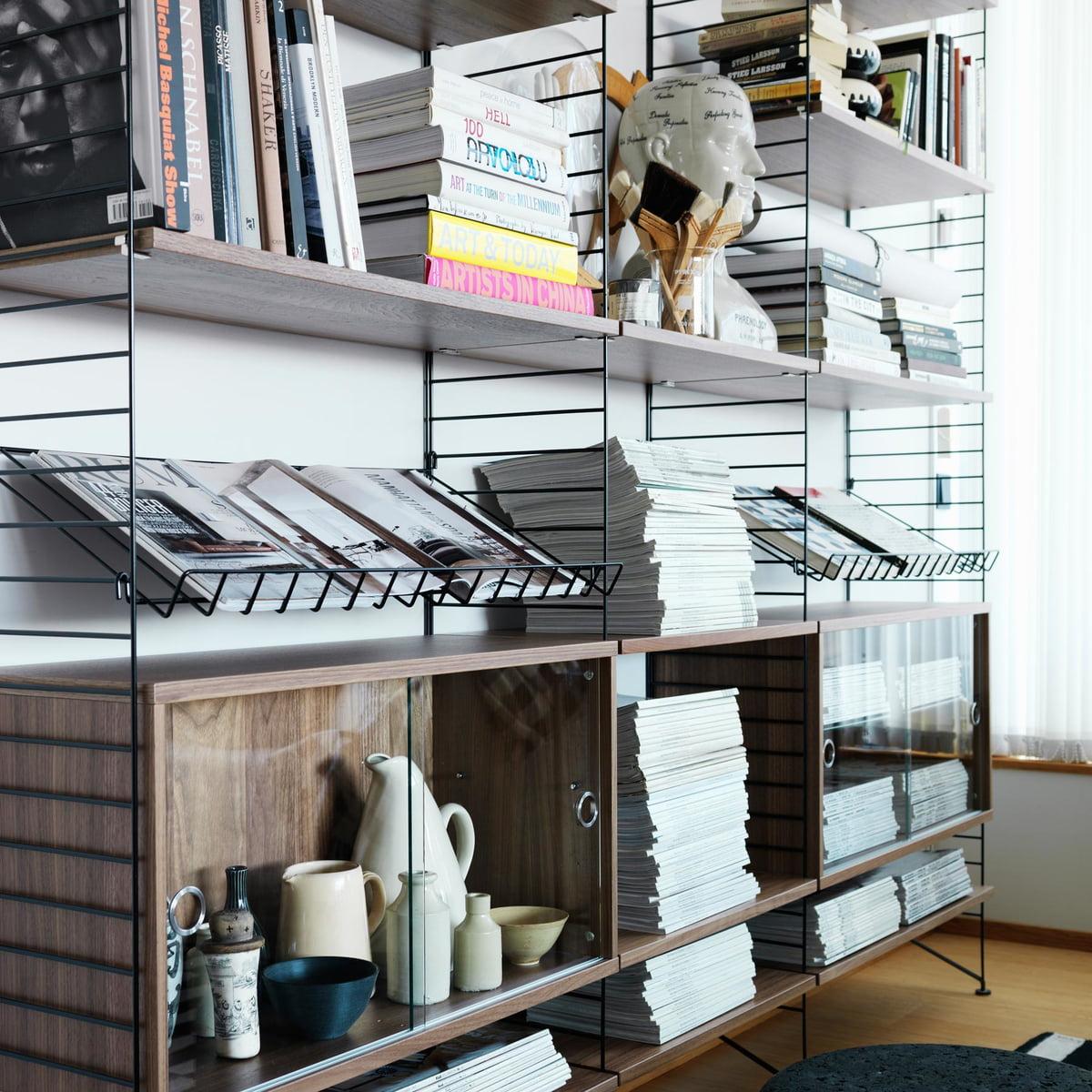 string syst me d 39 tag res noyer de string. Black Bedroom Furniture Sets. Home Design Ideas