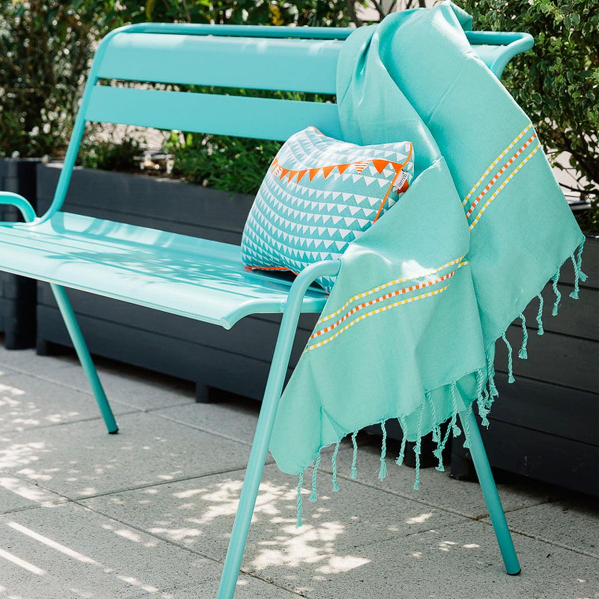 la serviette de plage fouta palmyre de fermob. Black Bedroom Furniture Sets. Home Design Ideas