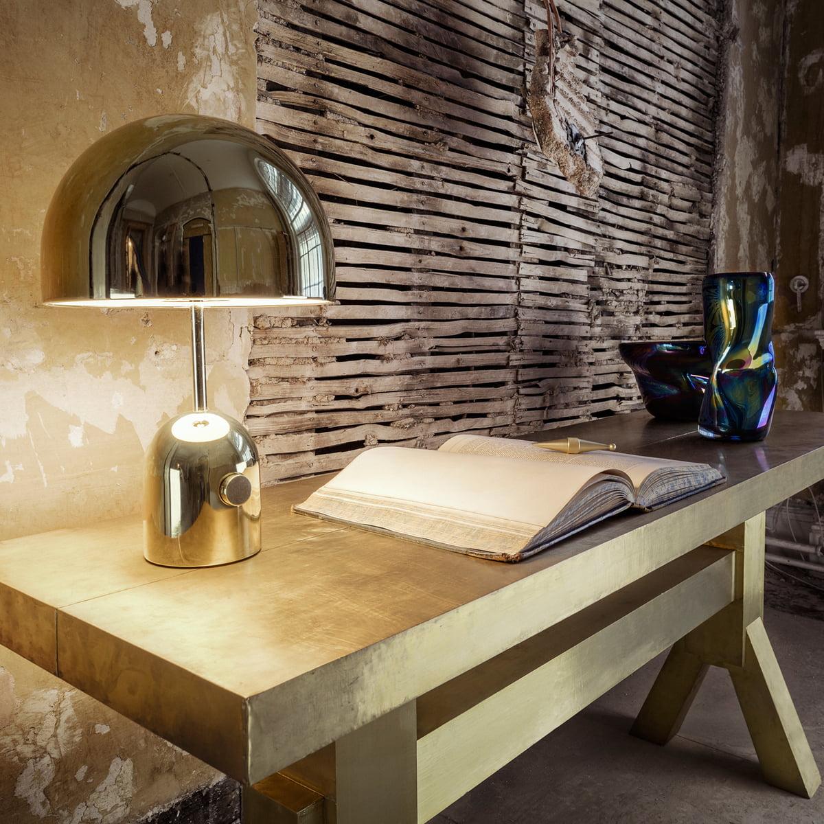 lampe de table bell de tom dixon. Black Bedroom Furniture Sets. Home Design Ideas