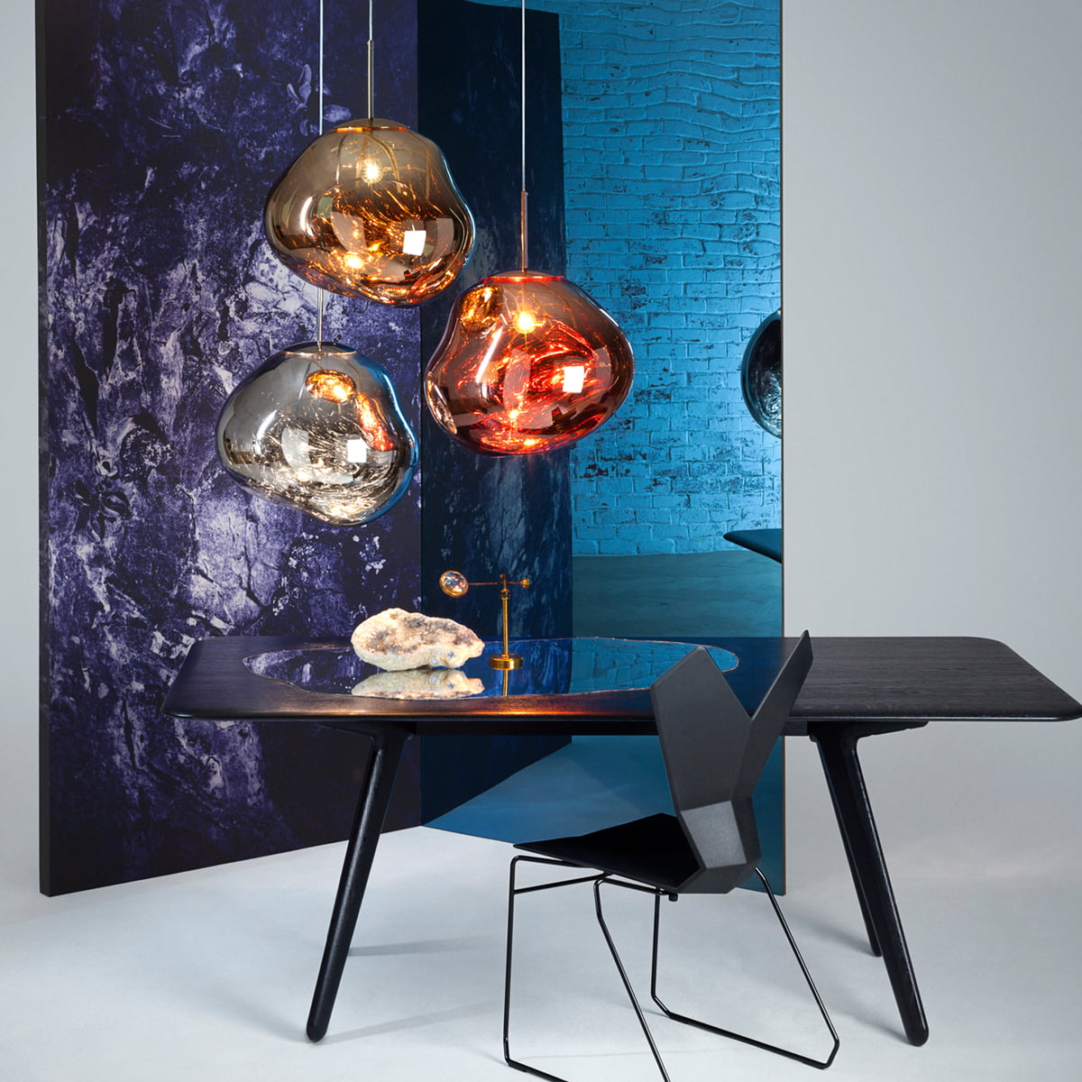 suspension lumineuse melt de tom dixon. Black Bedroom Furniture Sets. Home Design Ideas