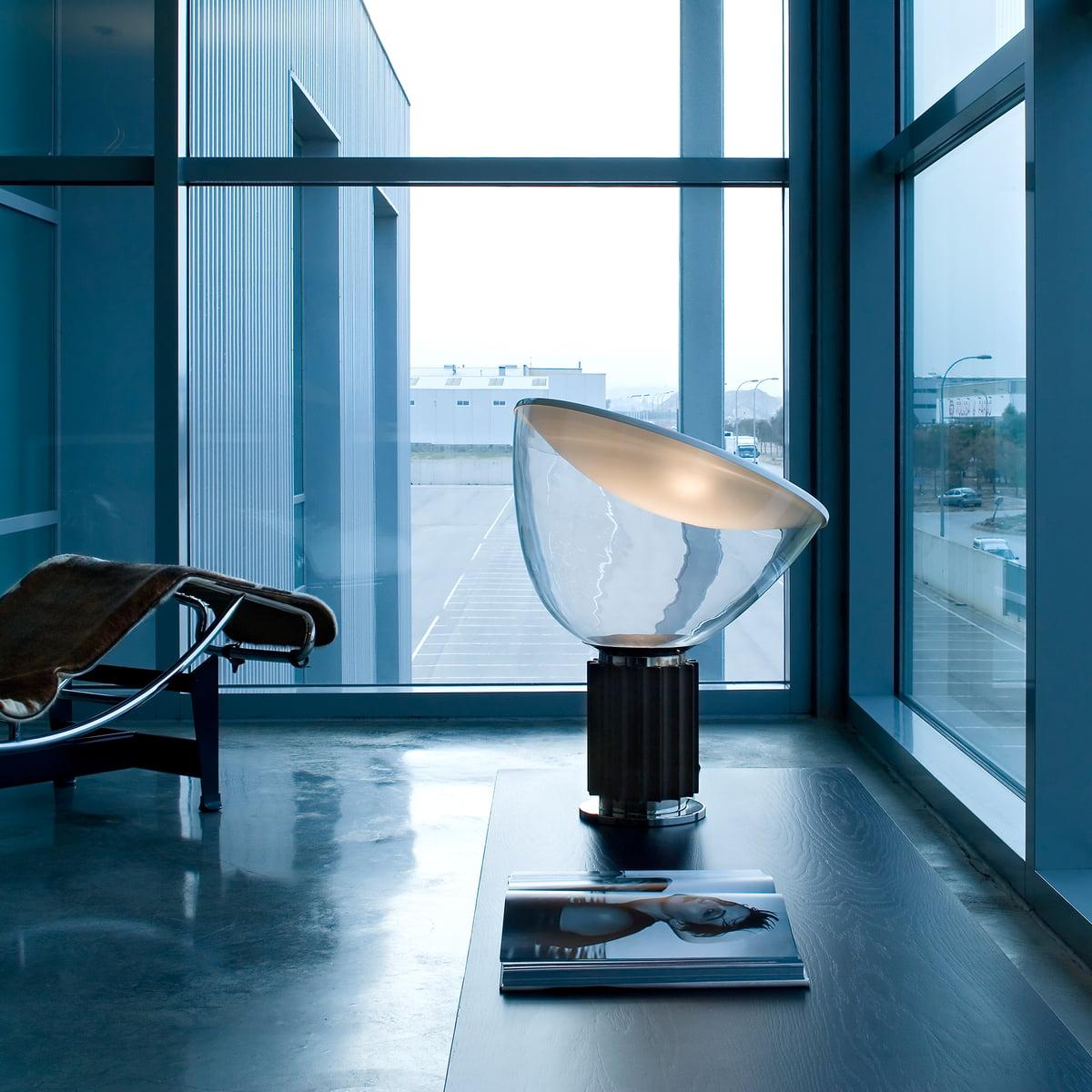 Taccia Led Flos Lampe TablepmmaNoir De hrCtsQd