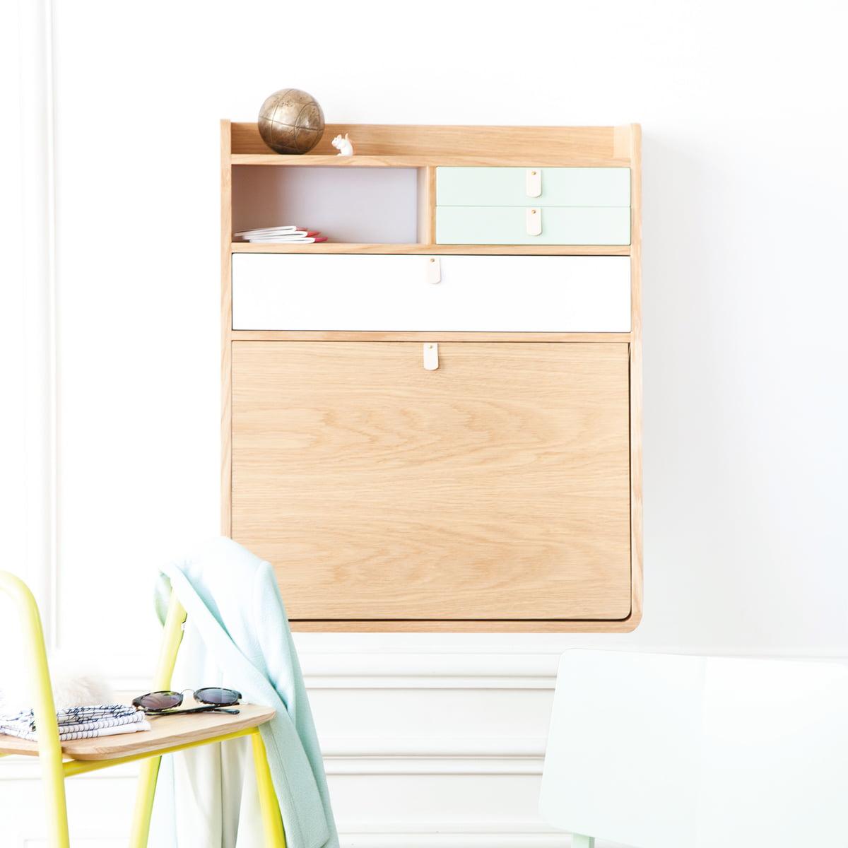 secr taire mural gaston de hart. Black Bedroom Furniture Sets. Home Design Ideas