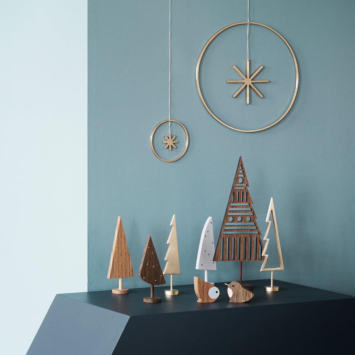 winterland tree de ferm living connox. Black Bedroom Furniture Sets. Home Design Ideas