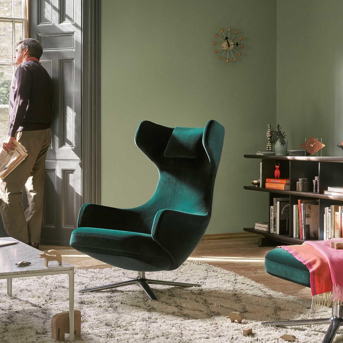Grand repos fauteuil ottomane vitra for Vitra design sessel