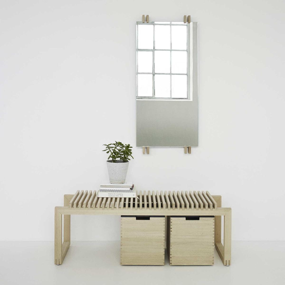 Miroir vertical cutter de skagerak connox for Miroir vertical