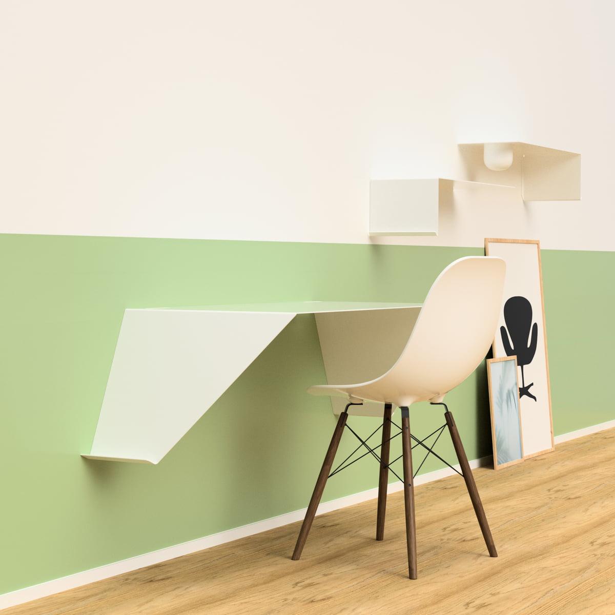 nichba design bureau mural desk01. Black Bedroom Furniture Sets. Home Design Ideas