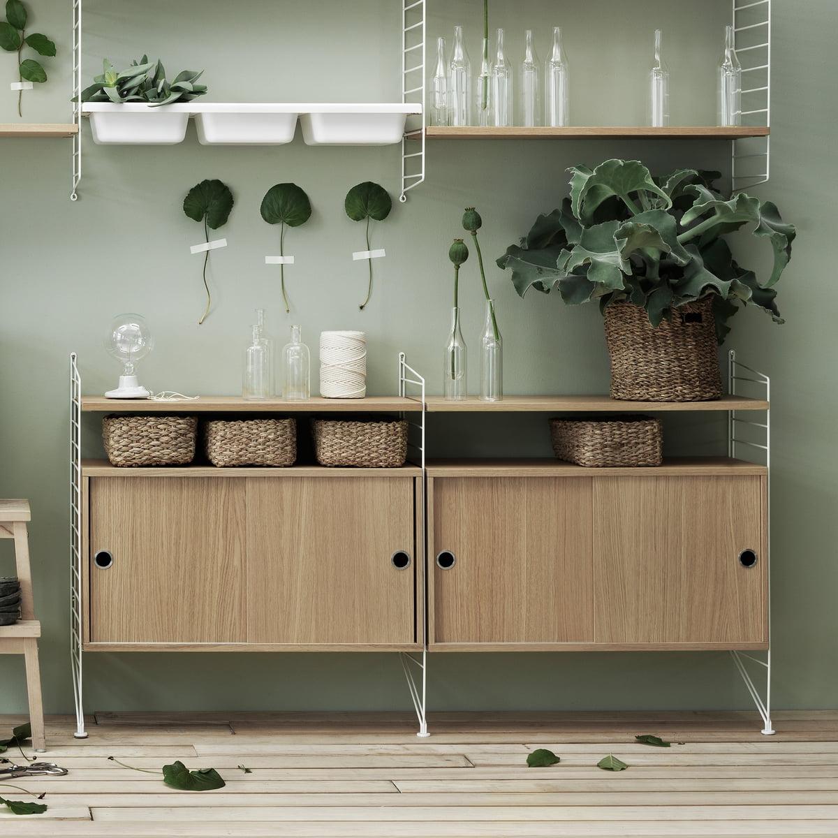 insert de rangement de string. Black Bedroom Furniture Sets. Home Design Ideas