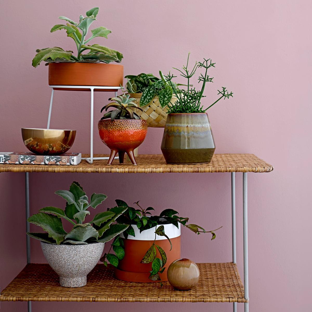 pot de fleur avec soucoupe de bloomingville. Black Bedroom Furniture Sets. Home Design Ideas