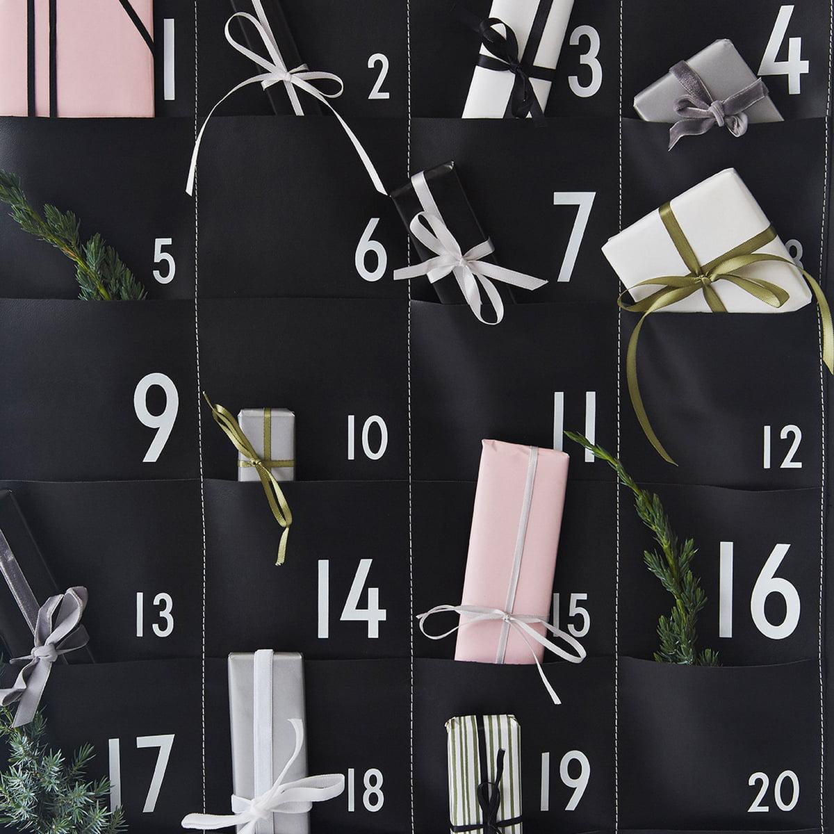 Calendrier 24 jours de design letters connox - Connox adventskalender ...
