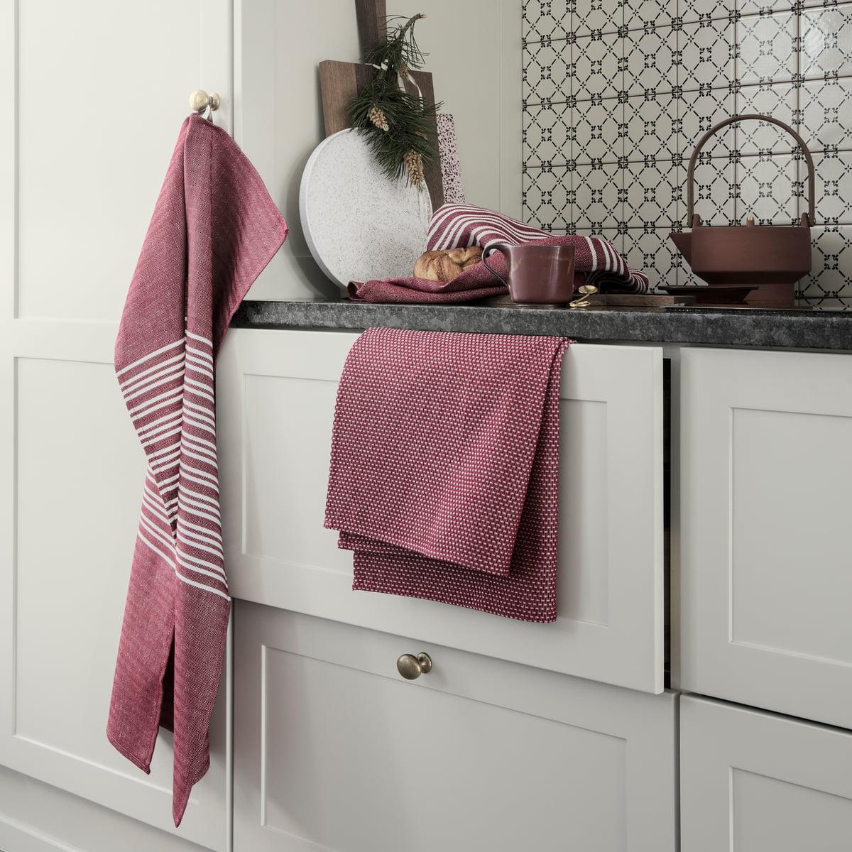 torchon vaisselle horizontal damask connox. Black Bedroom Furniture Sets. Home Design Ideas