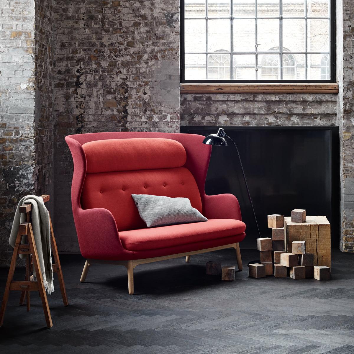 canap ro par fritz hansen boutique connox. Black Bedroom Furniture Sets. Home Design Ideas