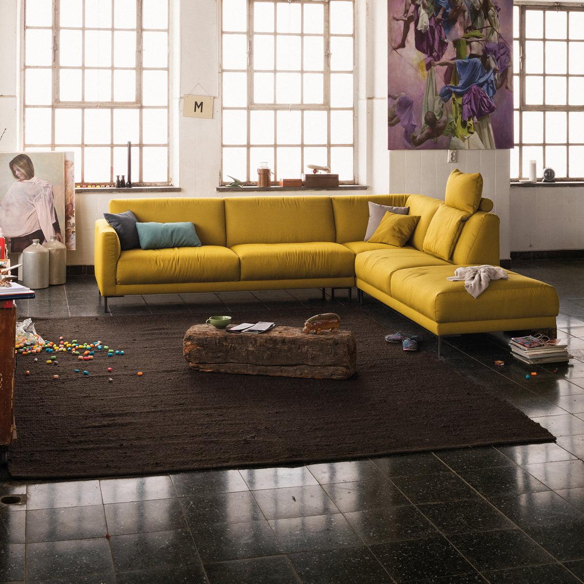 canap d 39 angle 141 de freistil rolf benz connox. Black Bedroom Furniture Sets. Home Design Ideas