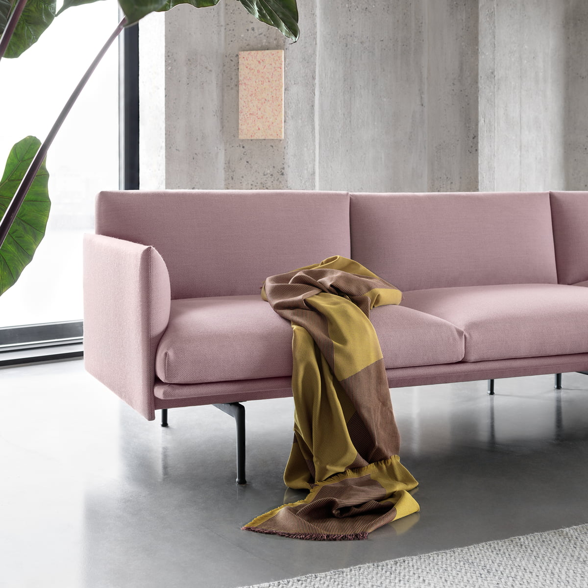 couverture sway en laine m rinos de muuto connox. Black Bedroom Furniture Sets. Home Design Ideas
