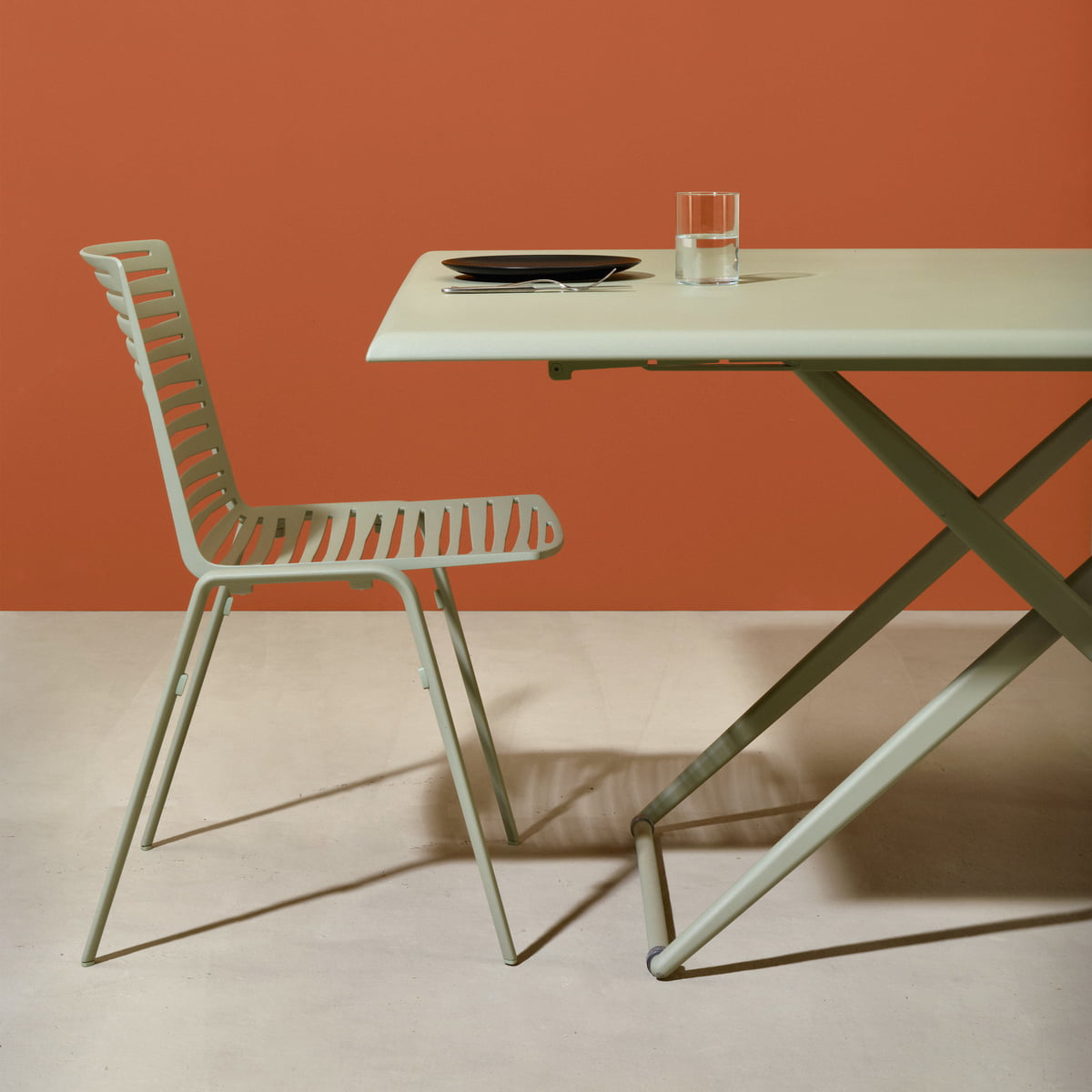 Table De Jardin A Hauteur Reglable Zebre Fast