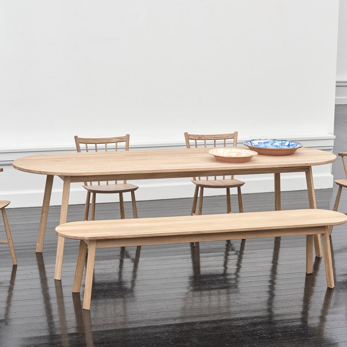 Table à Manger Triangle Leg Par Hay Connox