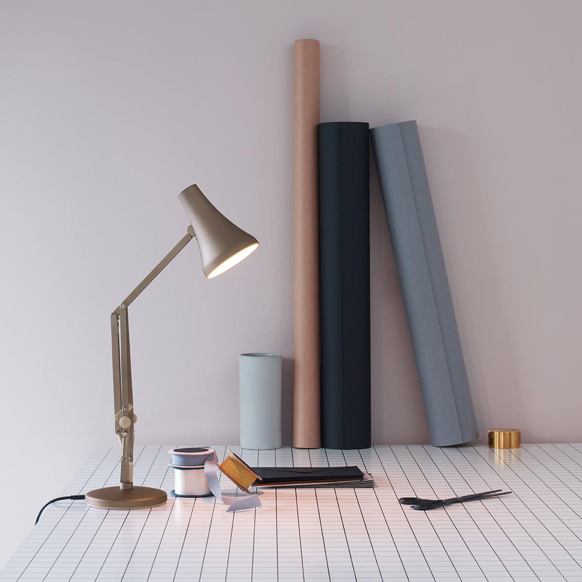 Anglepoise 90 De Mini Table Chaud Blush LedArgent Luminaire oQrCdWxBe