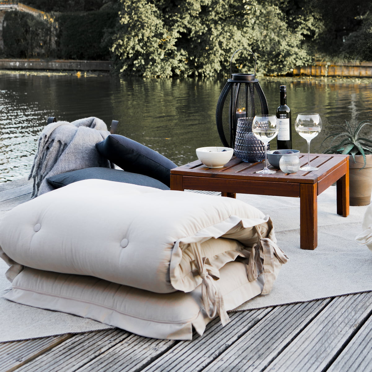 Karup Design S'asseoir et dormir sortie, blanc (401)