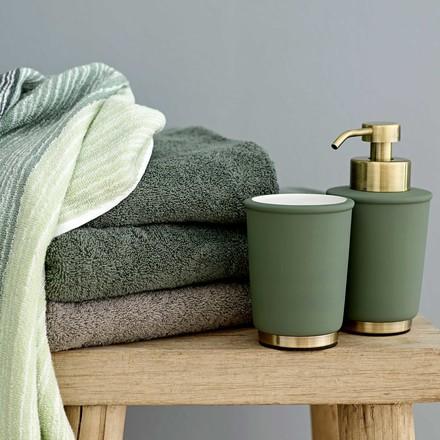 Distributeur de savon et porte-brosses à dents Touch de Södahl