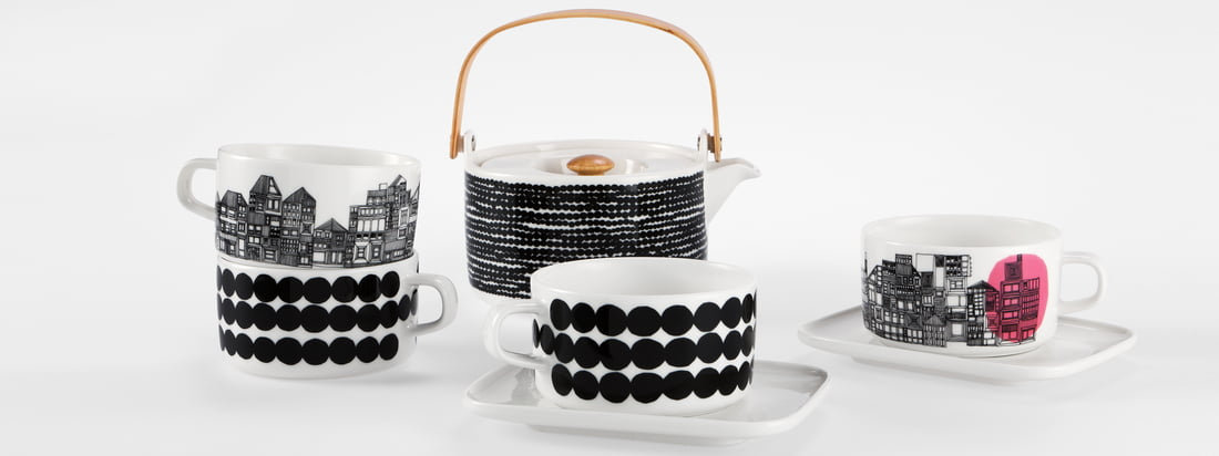 Marimekko - Collection Siirtolapuutarha - bannière