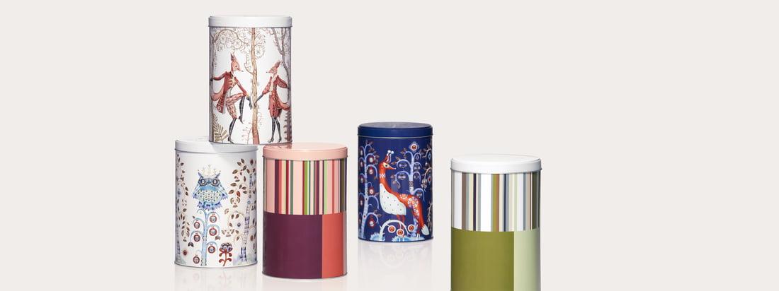 Iittala - Boîtes métalliques - Header