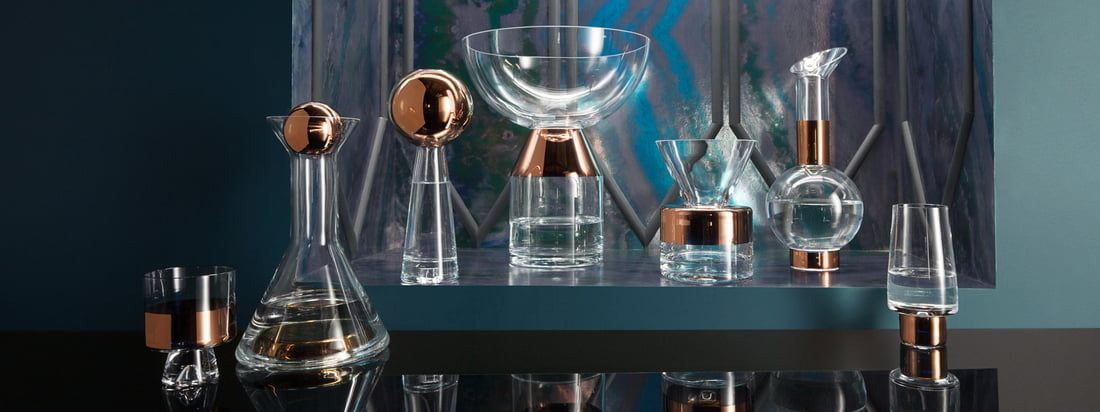 Tom Dixon - Collection en verre Tank