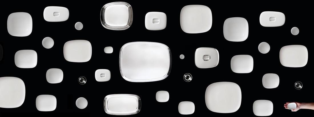 Alessi - Série Service de Table Ovale