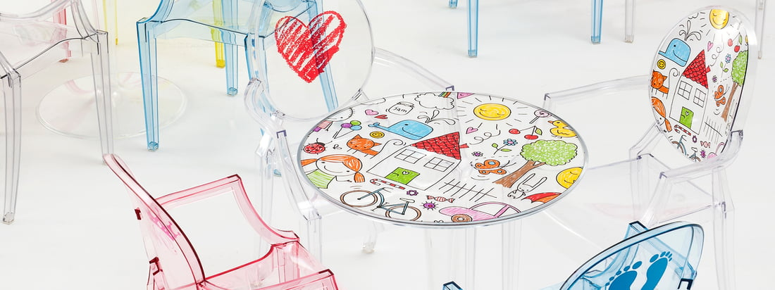Kartell - Collection Kids - Bannière