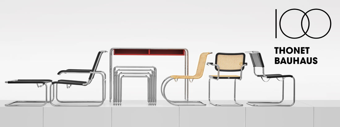 Thonet - Bannière de collection Bauhaus 3840x1440