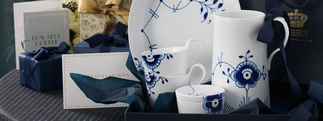Royal Copenhagen - Méga Bleu Côtes Bleues