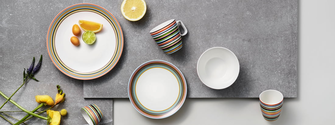 Iittala - Bannière de la collection des fabricants d'Origo
