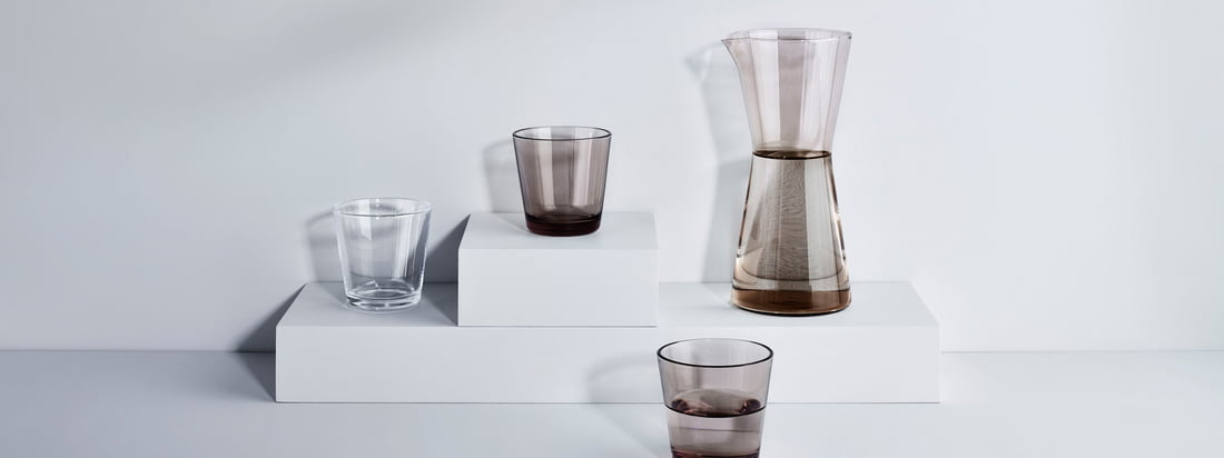 Iittala - Bannière de la collection du fabricant Kartio
