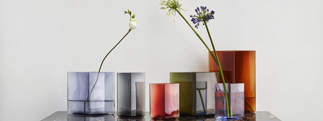 Iittala - Bannière de la collection du fabricant Ruutu
