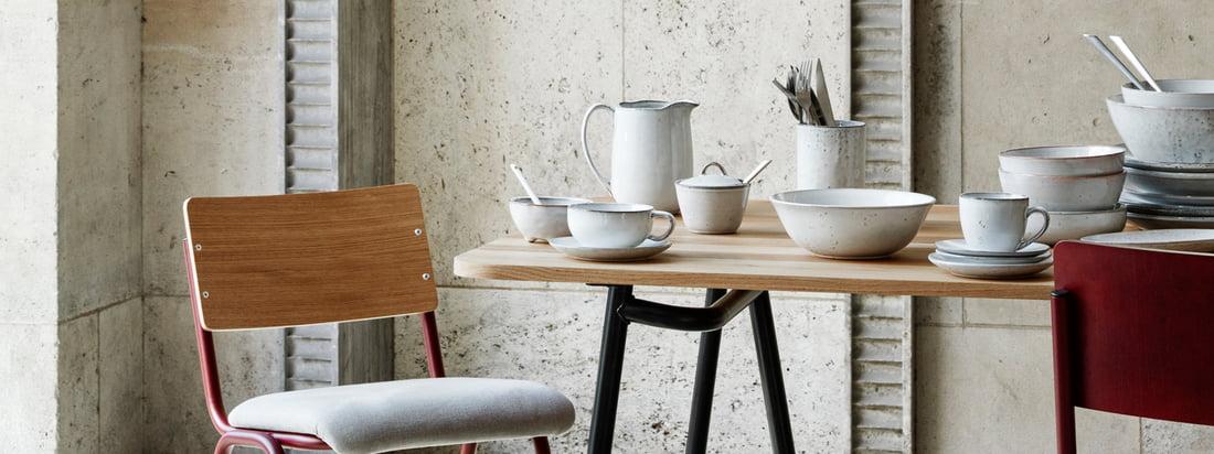 Broste Copenhagen - Bannière vaisselle Nordic Sand 3840x1440