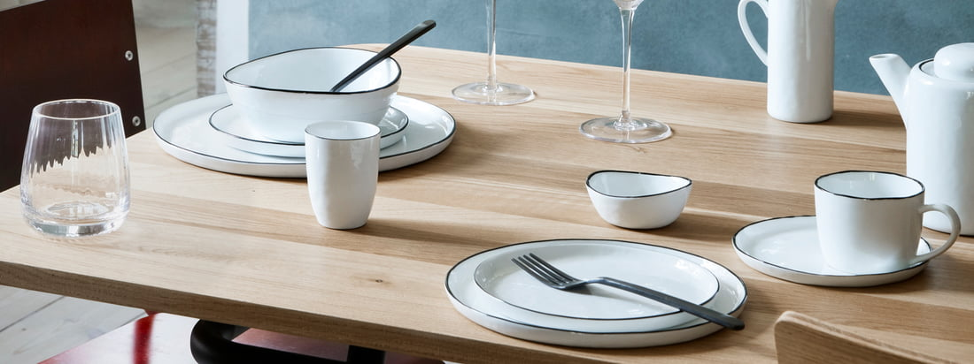 Broste Copenhagen - Série de vaisselle en Salt