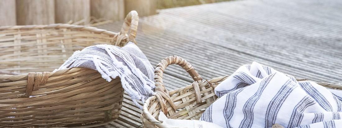 Les paniers de rangement Tradition de Meraki sont des aides polyvalentes au quotidien qui trouvent leur place dans tous les styles d'intérieur.