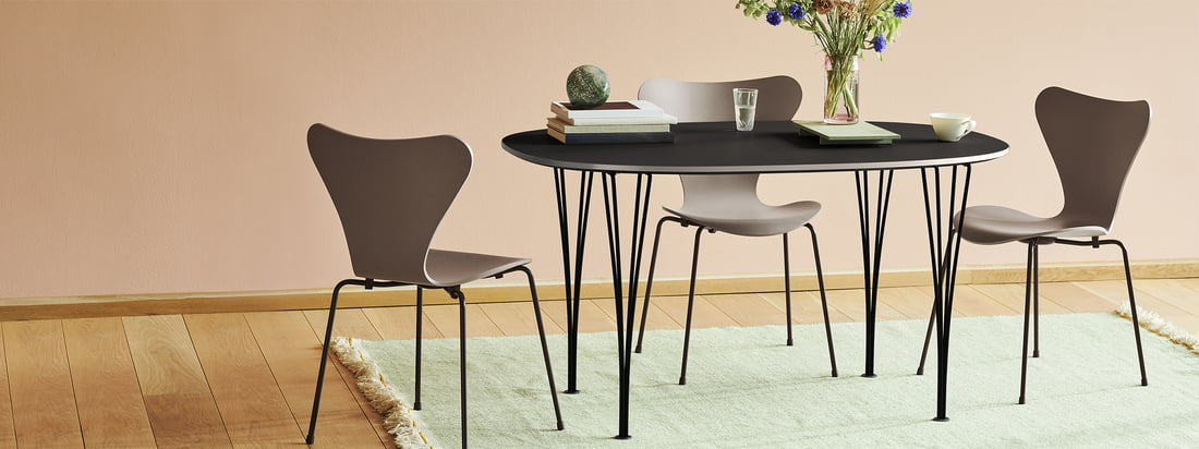 Fritz Hansen - Série 7 - Collection - En-tête